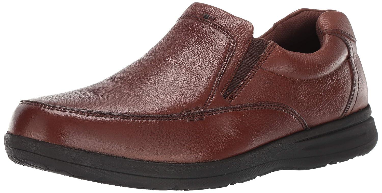 Nunn Bush Men's Cam Slip-On Loafer, Cognac, 12 W US