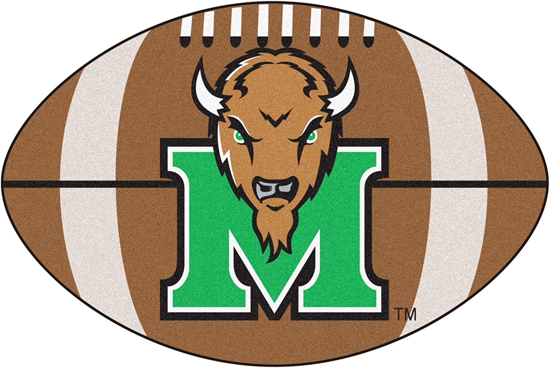 Marshall University Football Area Rug
