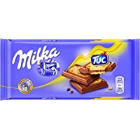 Milka - Tableta De Chocolate Y Galleta Tuc, 87 g