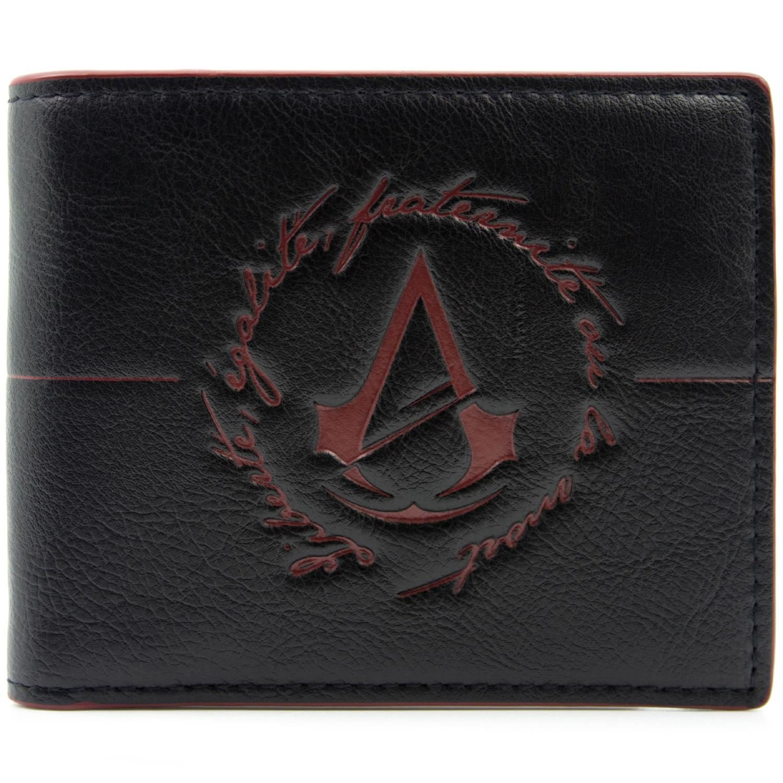 Ubisoft Assassins Creed Unity Logo Nero portafoglio 27079