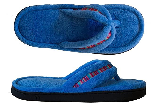 bc25d55c3f1e Image Unavailable. Image not available for. Colour  Isotoner Women s  Microterry Rowan Thong Slipper ...
