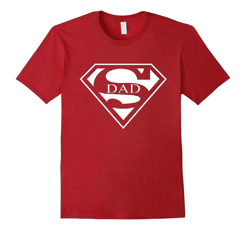 fc2c1e82 Super Dad T-Shirt Funny Superhero Fathers Day Tee Shirt-TD – Teedep
