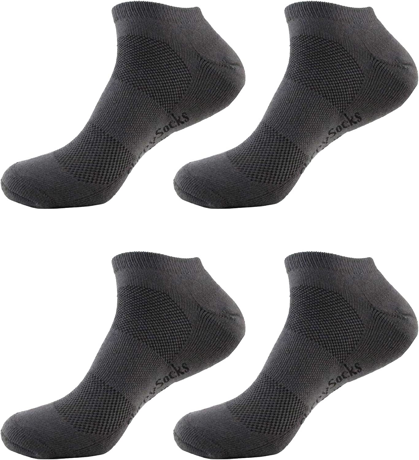 Women's Rayon from Bamboo Fiber Sports Superior Wicking Athletic Ankle Socks