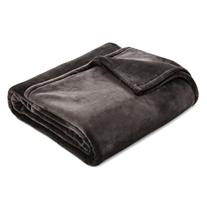 Amazon Com Threshold Ultra Soft Microplush Bed Blanket Full Queen