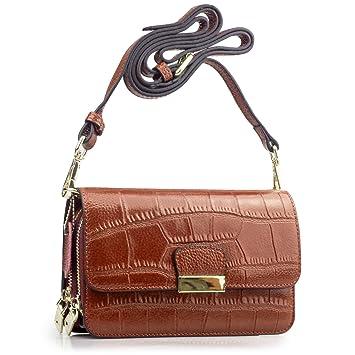 BAGZY Leather Women Clutch Wristlet Shoulder Bag Crossbody Messenger Lady  Party Handbag Cellphone Case Coin Cash 63e6d0347c