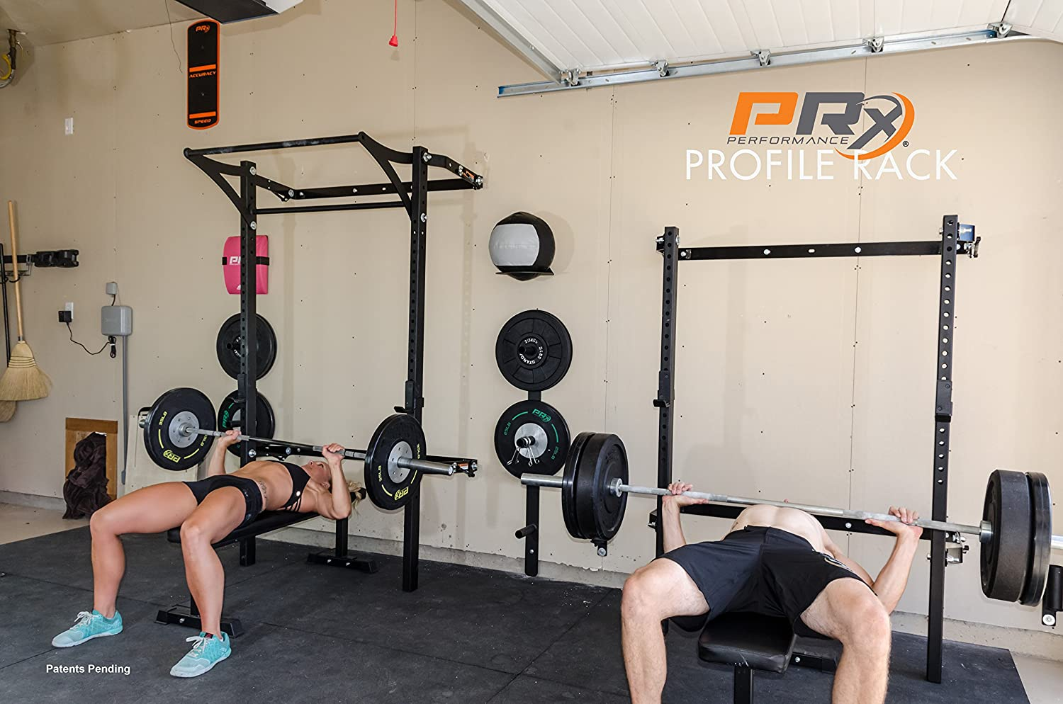 Prx wall mount profile rack with pull up bar review youtube