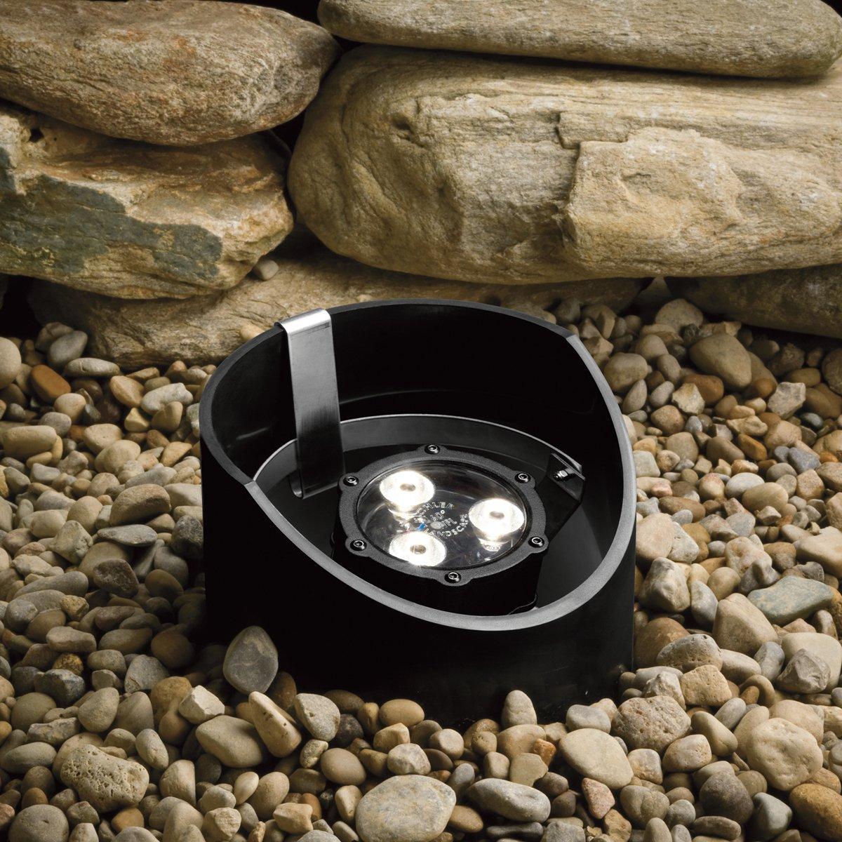 Kichler 15769BKT LED Well Light
