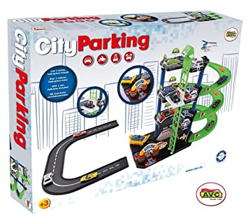 Parking Coches City 53x39cm752Amazon Avc Caja 2 esJuguetes KFJl1c