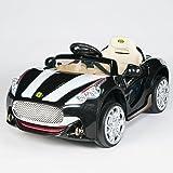 Maserati Style 12V Kids Ride On Car Electric Power Wheels Remote Control Black