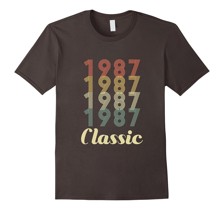 30th Birthday Vintage Gift – Classic 1987 Novelty T Shirt-Teevkd