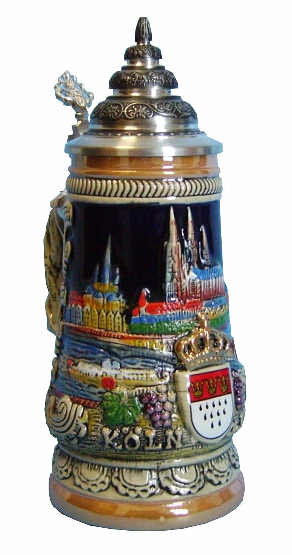 King Jarra de cerveza alemana Colonia, jarra 0,5 litros: Amazon.es: Hogar