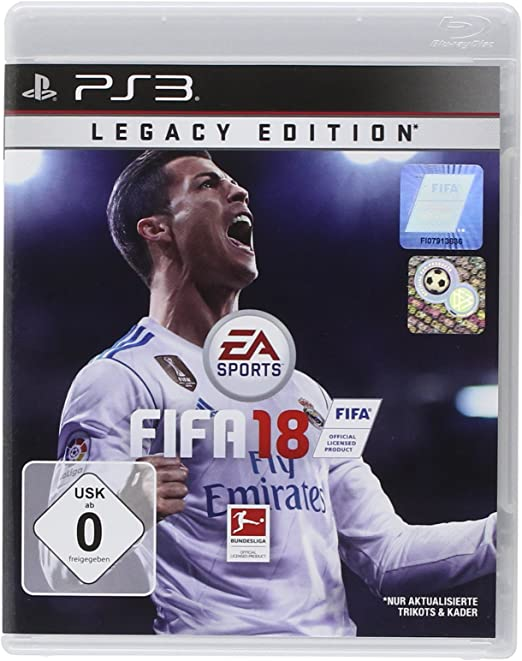 FIFA 18 - Legacy Edition - PlayStation 3 [Importación alemana]: Amazon.es: Videojuegos