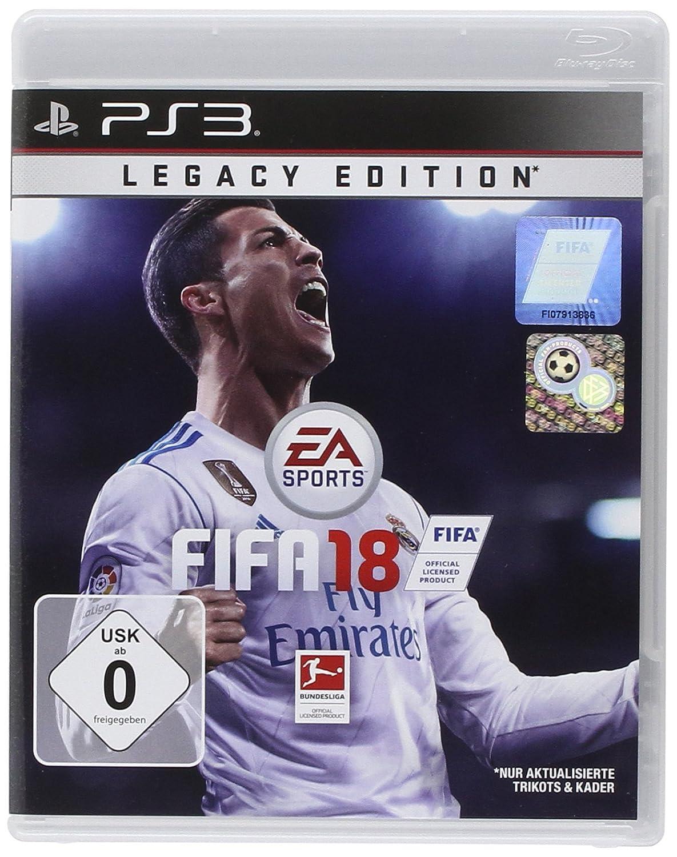 FIFA 18 - Legacy Edition - PlayStation 3 [Importación alemana ...