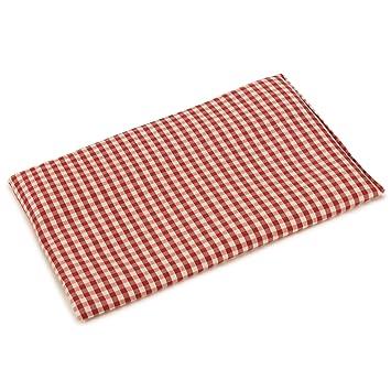 Almohada térmica de semillas 30x20cm (algodón orgánico rojo y ...