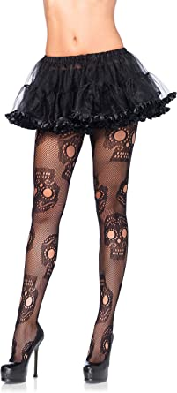 Ladies Best Dressed Black Fishnet Halloween One Size Fancy Dress Tights