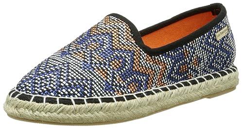 Les Tropéziennes par M. Belarbi Crème, Alpargatas Mujer: Amazon.es: Zapatos y complementos