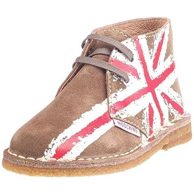 Moschino 2004496-01 - Mocasines de ante para niño, color gris, talla 29: Amazon.es: Zapatos y complementos