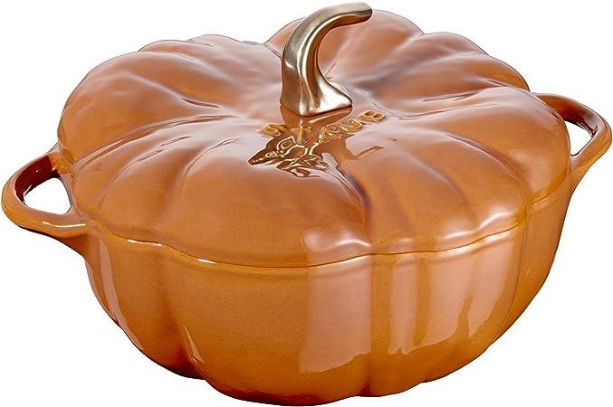 Staub Cast Iron 5-qt Pumpkin Cocotte – Burnt Orange