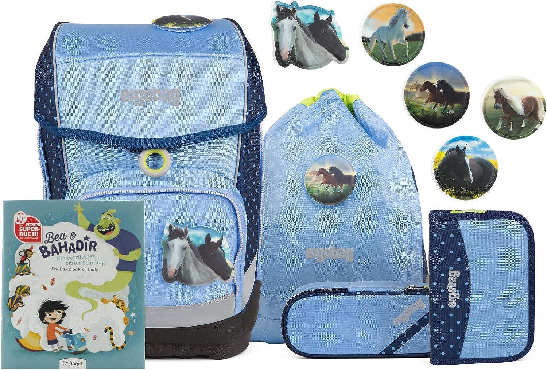 Ergo Bag Cubo Light School Bag Set 5 Pieces With Free