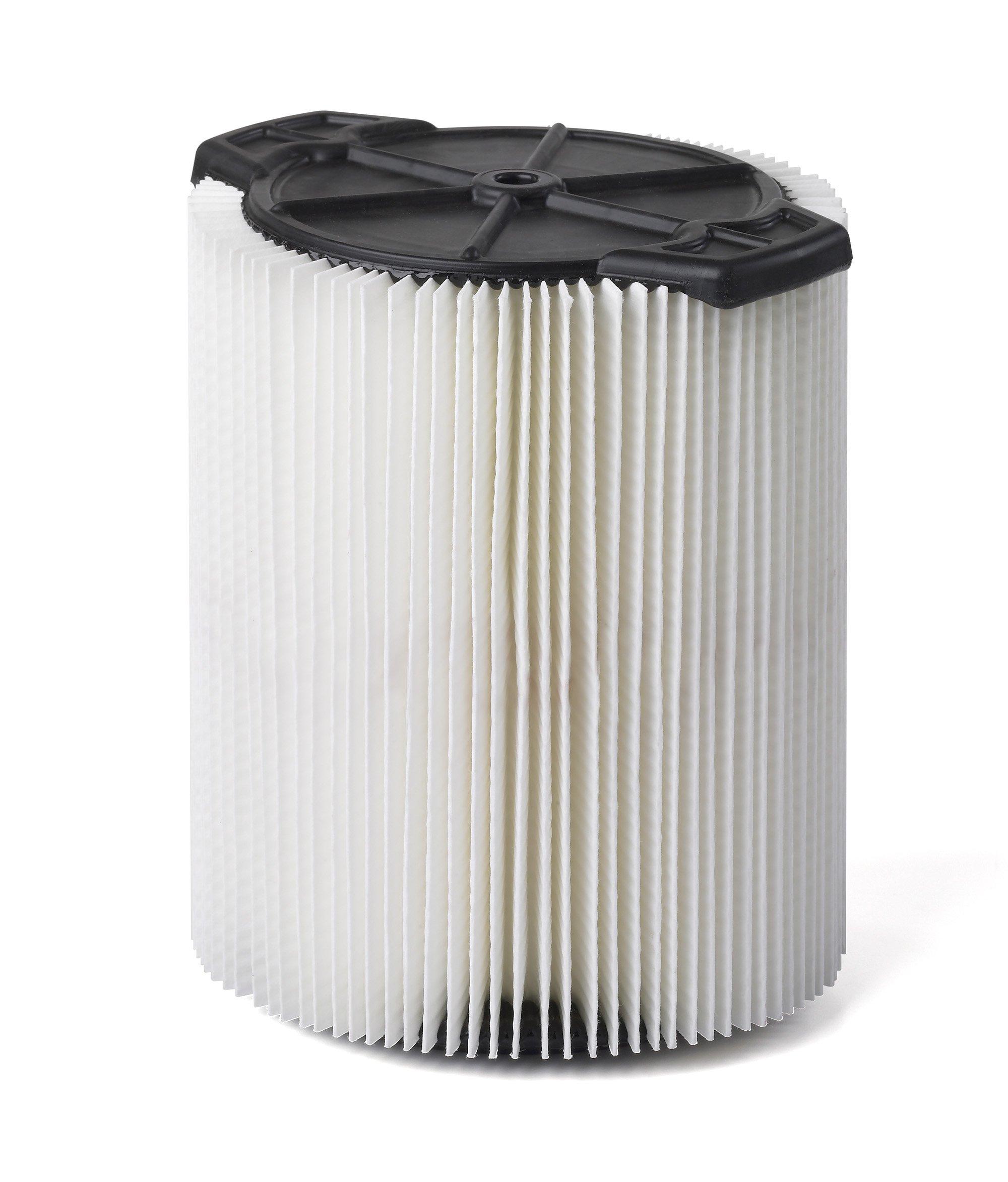 Multi-Fit Wet Dry Vac Filter VF7816 Standard Wet Dry Vacuum Filter by WORKSHOP Wet/Dry Vacs