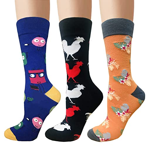 High Quality Combed Cotton Socks Animal Pattern Long Tube Funny Happy Men Socks Novelty Skateboard Crew Casual Crazy Socks Underwear & Sleepwears