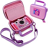 CASEMATIX Pink Camera Case Compatible with VTech KidiZoom Camera - Protective Travel Case with Shoulder Strap Compatible…