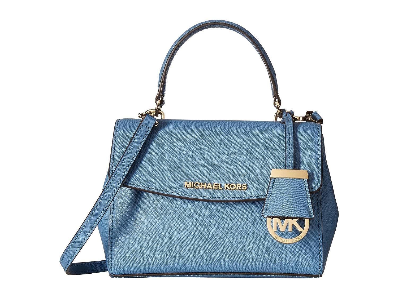 cb2bdc6f5ecec8 Michael Kors Women's Ava Extra-small Saffiano Leather Crossbody Cross-Body  Bag