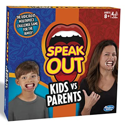 Hasbro Juego de Mesa Speak out: Juguetes y juegos