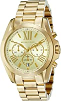 MK5605 Ladies Gold Plated Michael Kors Watch