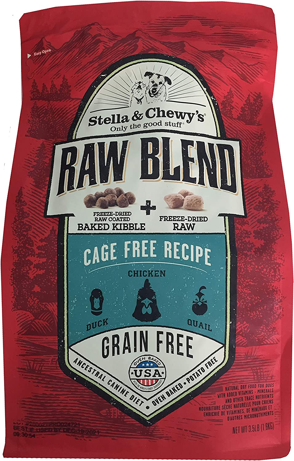 Stella & Chewy'S - Raw Blend Cage-Free Recipe, 3.5Lbs