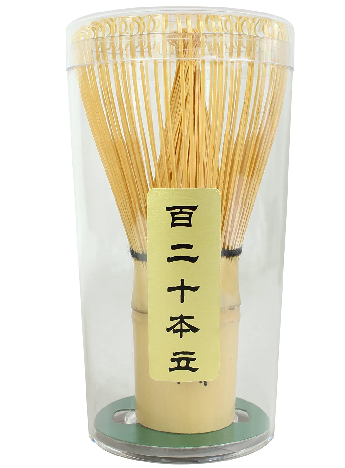 DOCTOR KING Premium Handcrafted Bamboo Matcha Tea Whisk | Premium Quality: 120 prongs | Chasen