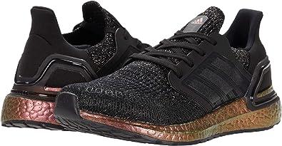 adidas Kids' Ultraboost 20 Running Shoe (Core Black/Core Black/Signal Pink, 6.5)