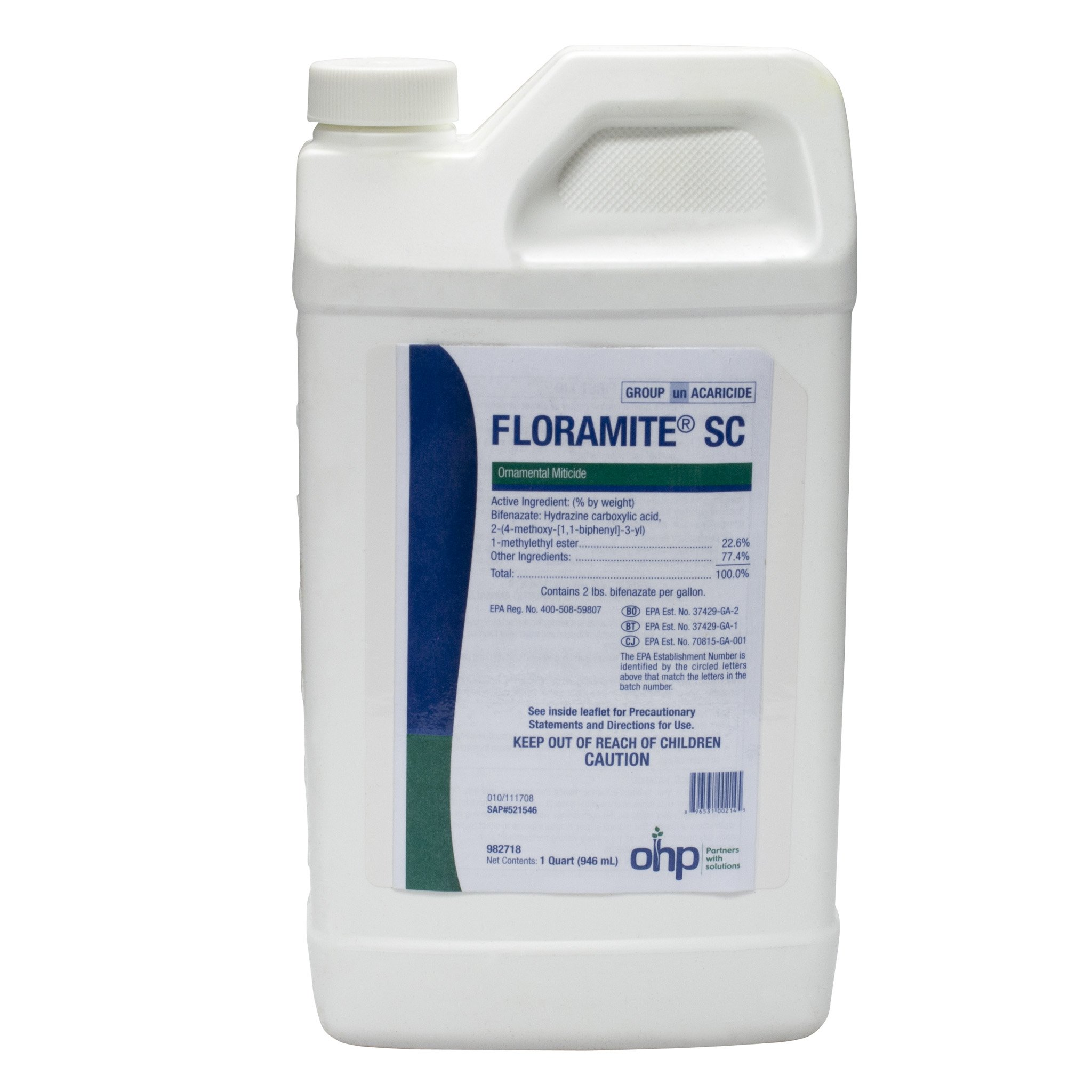 Floramite SC Ornamental Miticide - Spider Mite Control - 1 Quart Bottles by OHP