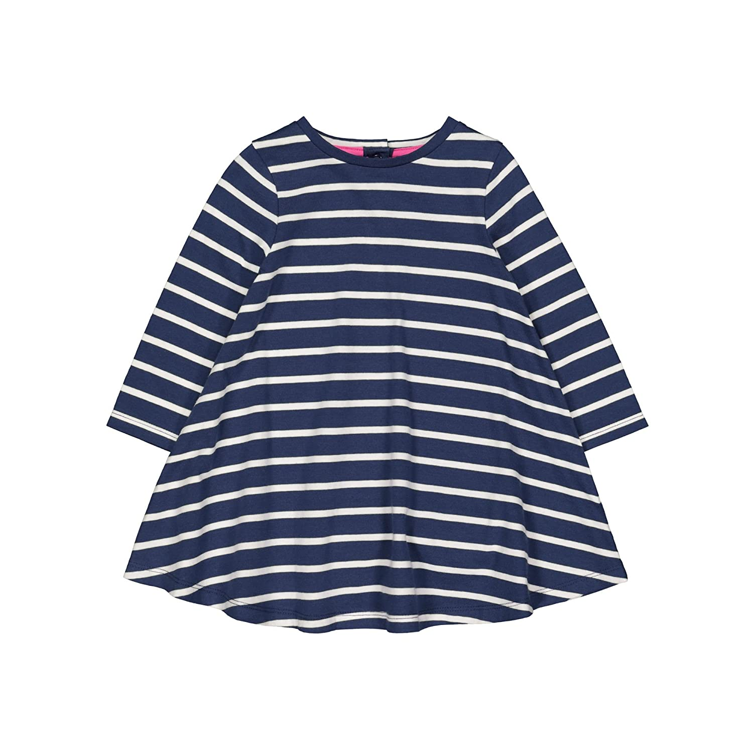 Mothercare Promo Long Navy Stripe Dreshort Sleeve, Vestito Bimba QB690