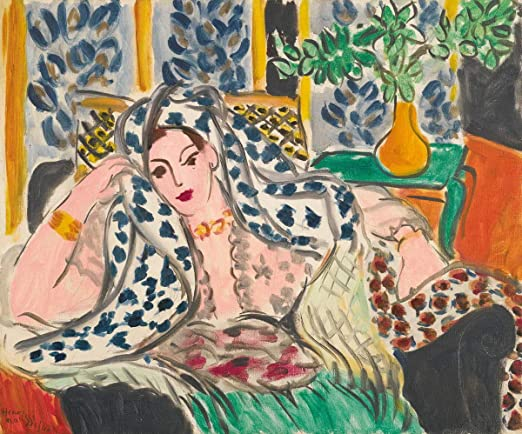 Henri Matisse Woman beside the Water Giclee Canvas Print Paintings Poster Reprod