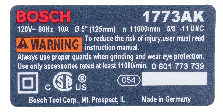 Bosch Parts 3601119267 Nameplate