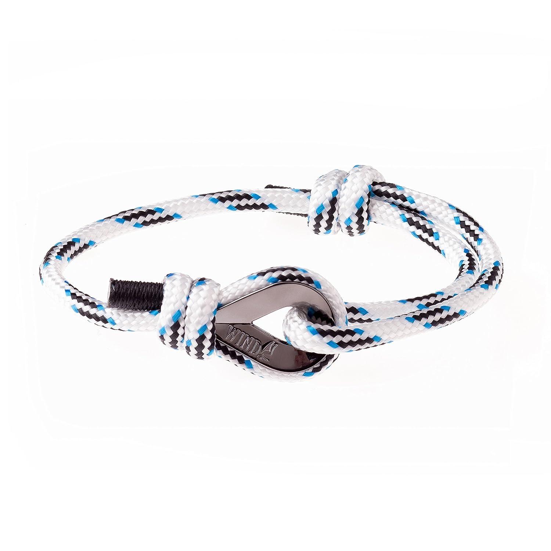 7d95f2d6f0dd Wind Passion Pulsera Náutica Cuerda Marinera de Calidad Comprobada para  Hombre Ventus artis LLC 44040612