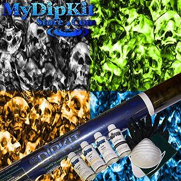 Amazon hex urban skull camo hydrographics kit mydipkit rc 300 hex urban skull camo hydrographics kit mydipkit rc 300 my dip kit solutioingenieria Choice Image