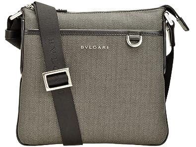 competitive price 57b59 e2e80 Amazon | (ブルガリ) BVLGARI ショルダーバッグ 斜めがけ メンズ ...