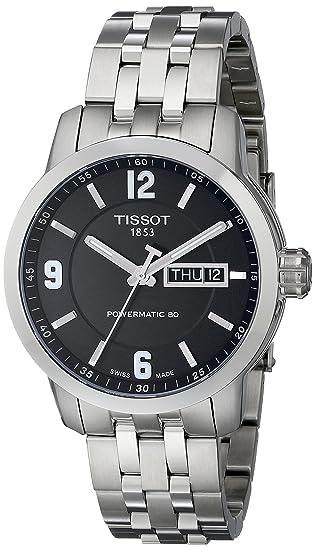 Tissot Reloj Hombre de Analogico con Correa en Acero Inoxidable T0554301105700: Amazon.es: Relojes