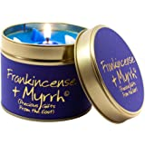 Lily Flame Frankincense and Myrrh Tin, Blue