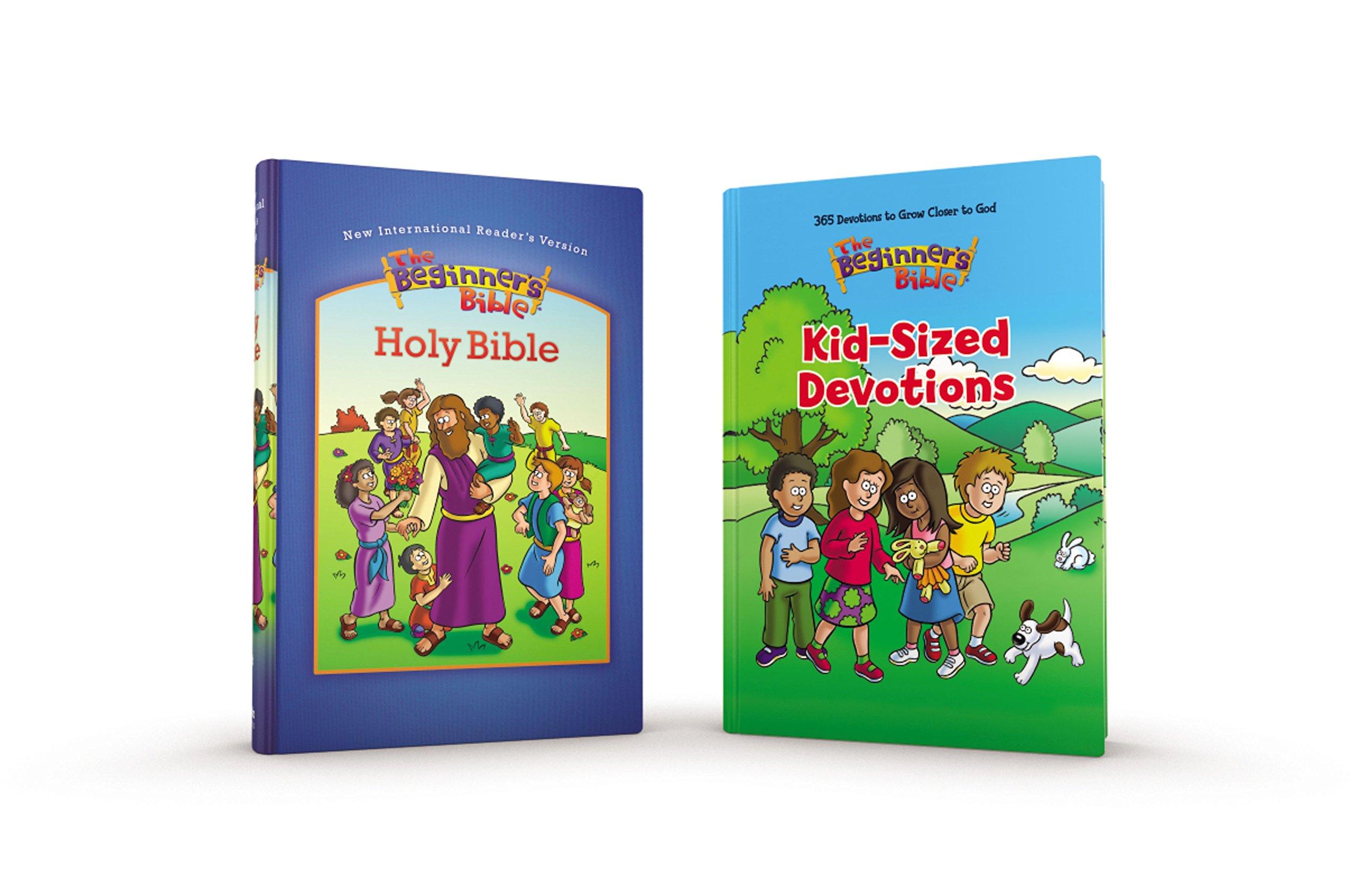 NIrV The Beginner's Bible Devotional Pack: Zondervan: 9780310751090:  Amazon.com: Books