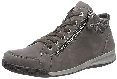 266e11e2e62616 ARA Rom, Baskets Hautes Femme: Amazon.fr: Chaussures et Sacs