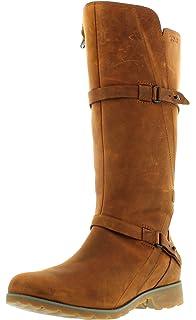 383c5378503 Teva De La Vina Low, Botas Biker para Mujer: Amazon.es: Zapatos y ...