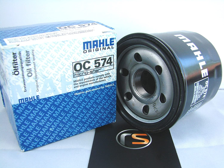 /Ölfilter MAHLE OC574 f/ür Kawasaki KLV 1000 A