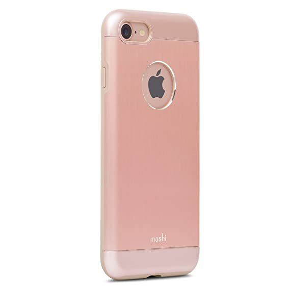 finest selection 5c68b f4ed3 Moshi Armour iPhone 7 Case - Rose Gold