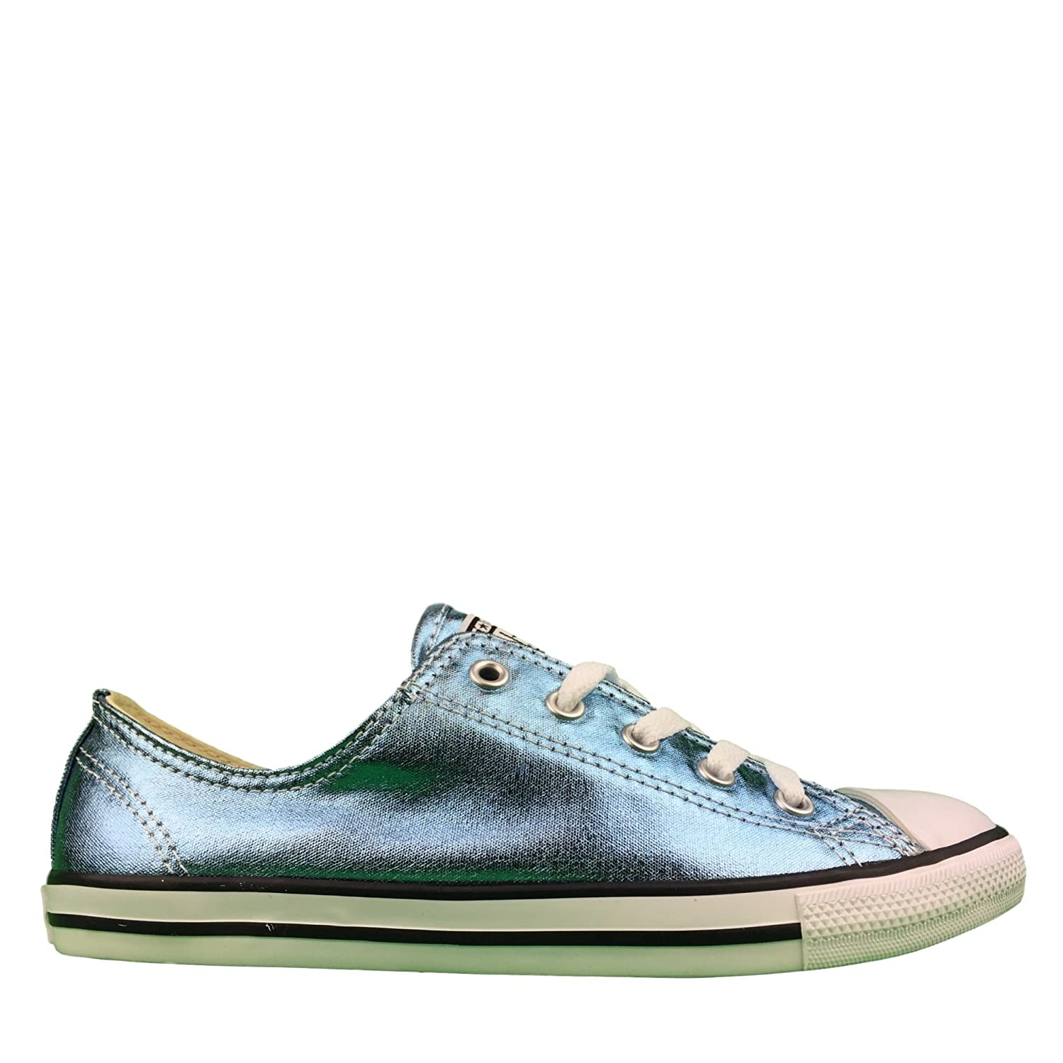 Converse Womens Chuck Taylor All Star Dainty Ox Canvas Trainers 35.5 EU|Blue Cst