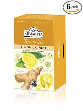 Ahmad Tea Infusion, 20 bolsas de té (paquete de 6): Amazon ...