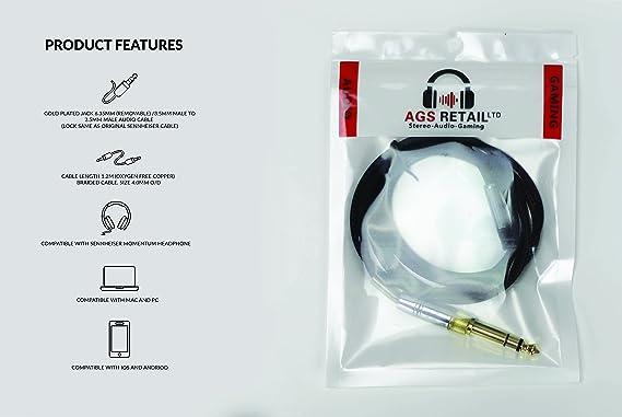 Ags Retail Ltd Ersatz Audio Upgrade Kabel Für Elektronik