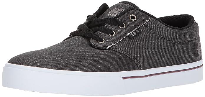 Etnies Jameson 2 Eco Sneakers Skateboardschuhe Herren Erwachsene Schwarz (Dirty Wash)